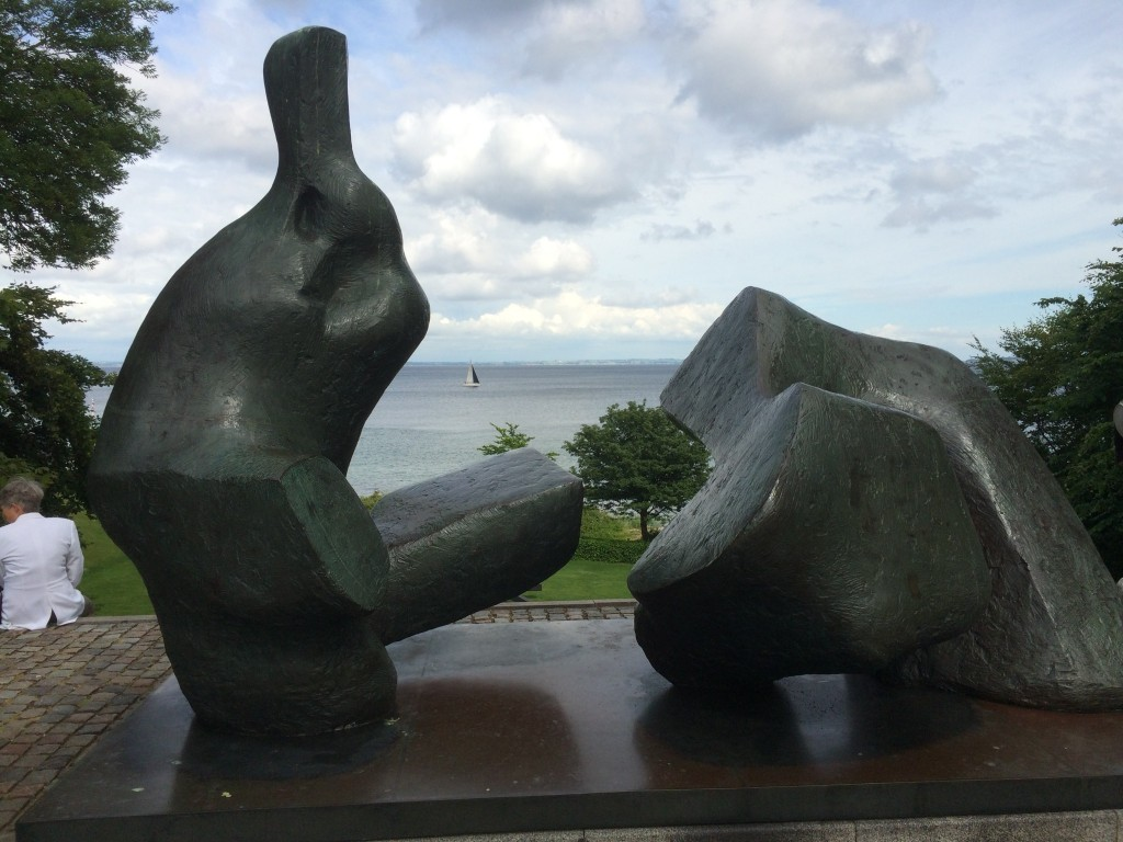 Henry moore sculpture at Lousiiana museum
