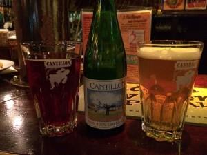 2 amazing Cantillon beers from Akkurat