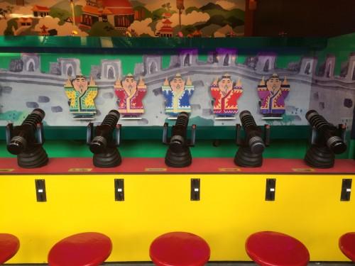 Shoot the chinese man game at Tivoli Gardens
