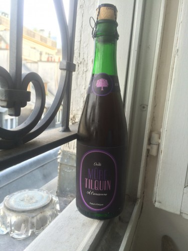 Bottle of tilquin Oude Mure Lambic