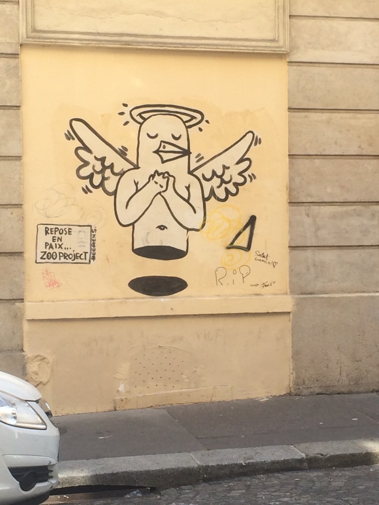 Paris Street Art Bird