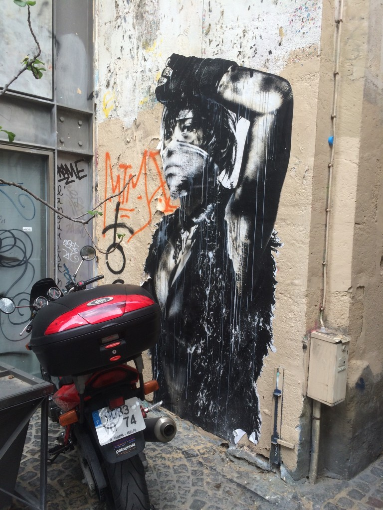 Paris street art rebel