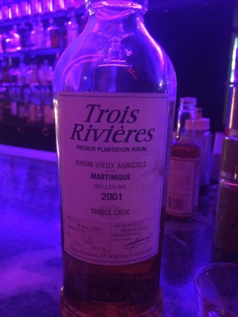 Trois Rivieres 2001 Rhum Agricole
