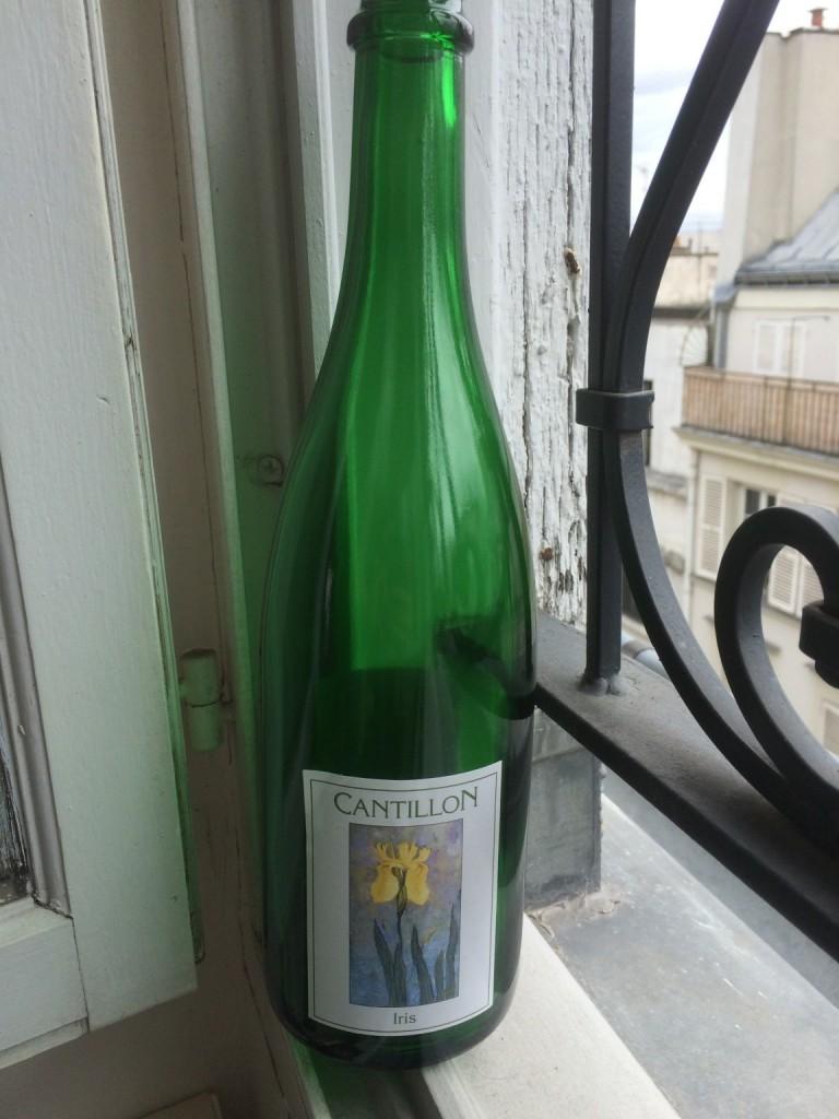 bottle of cantillon iris