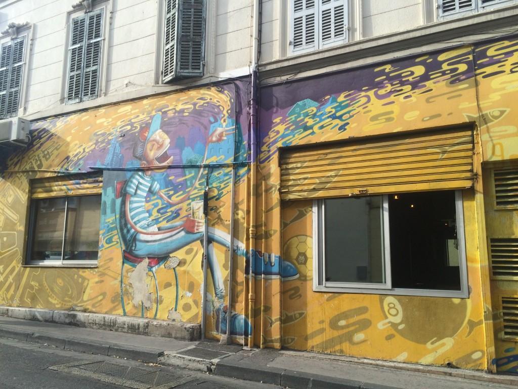 Beer mural marseille