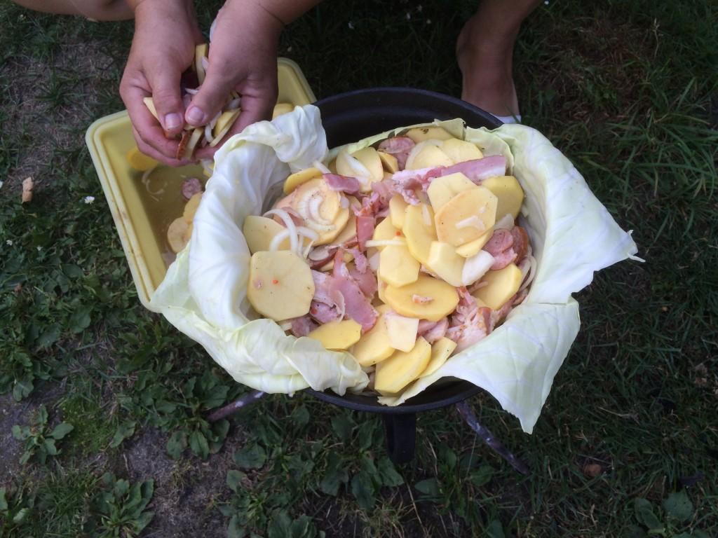 making pieczonki