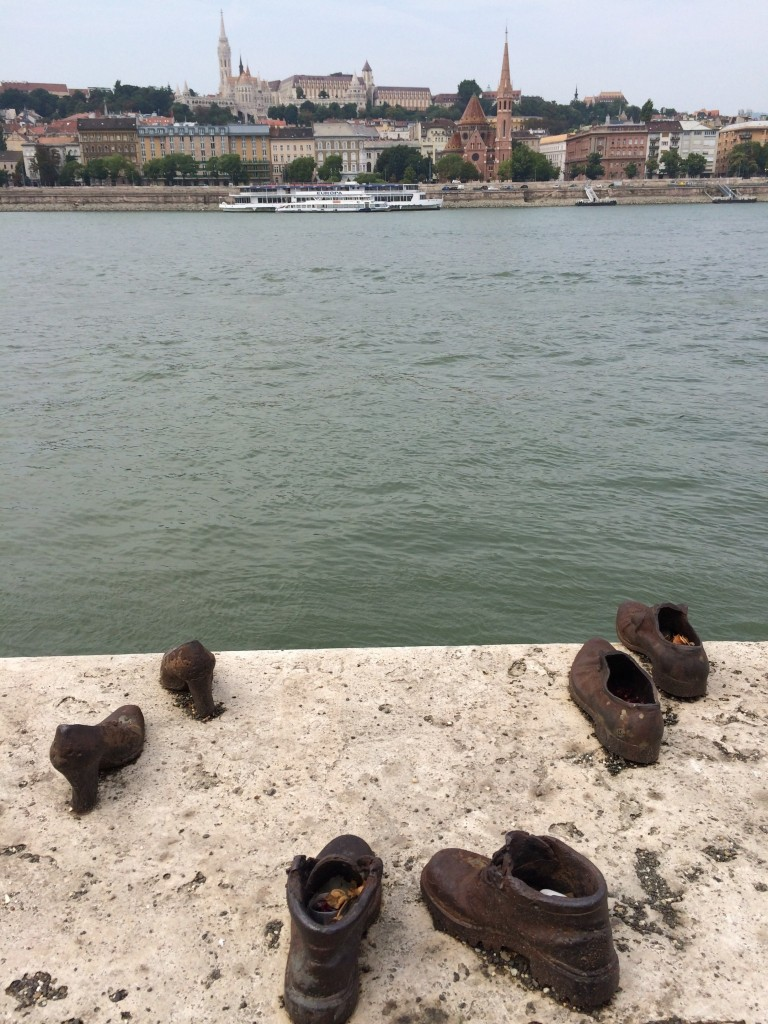 Shoes on the Danube views