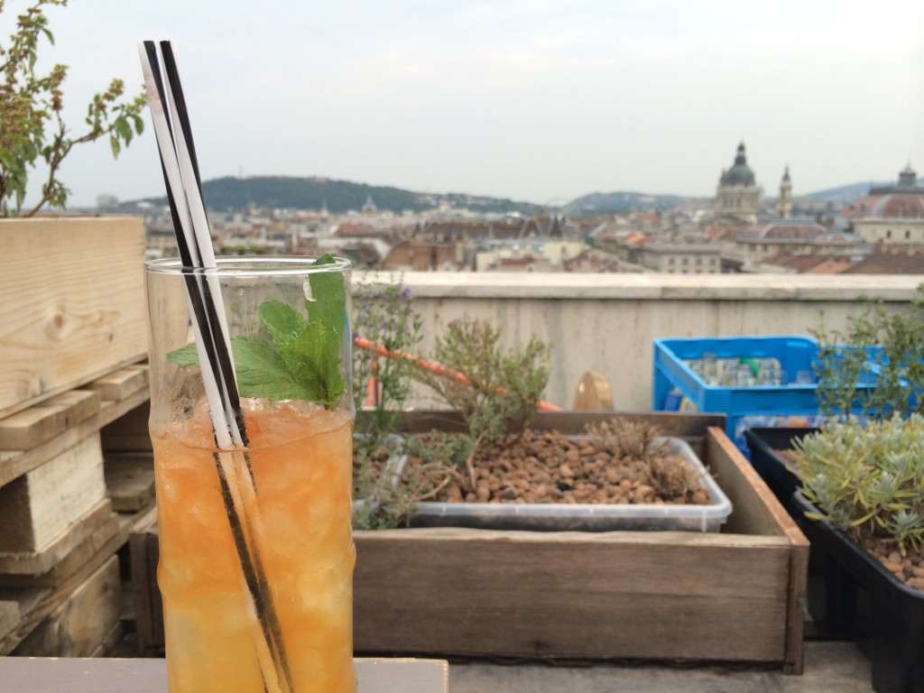 Rooftop cocktails to take in the views