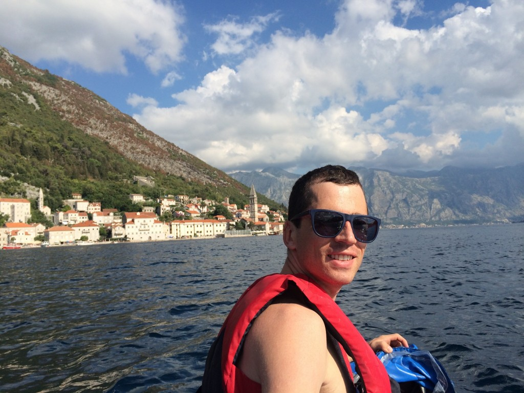 Kayaking in Perast