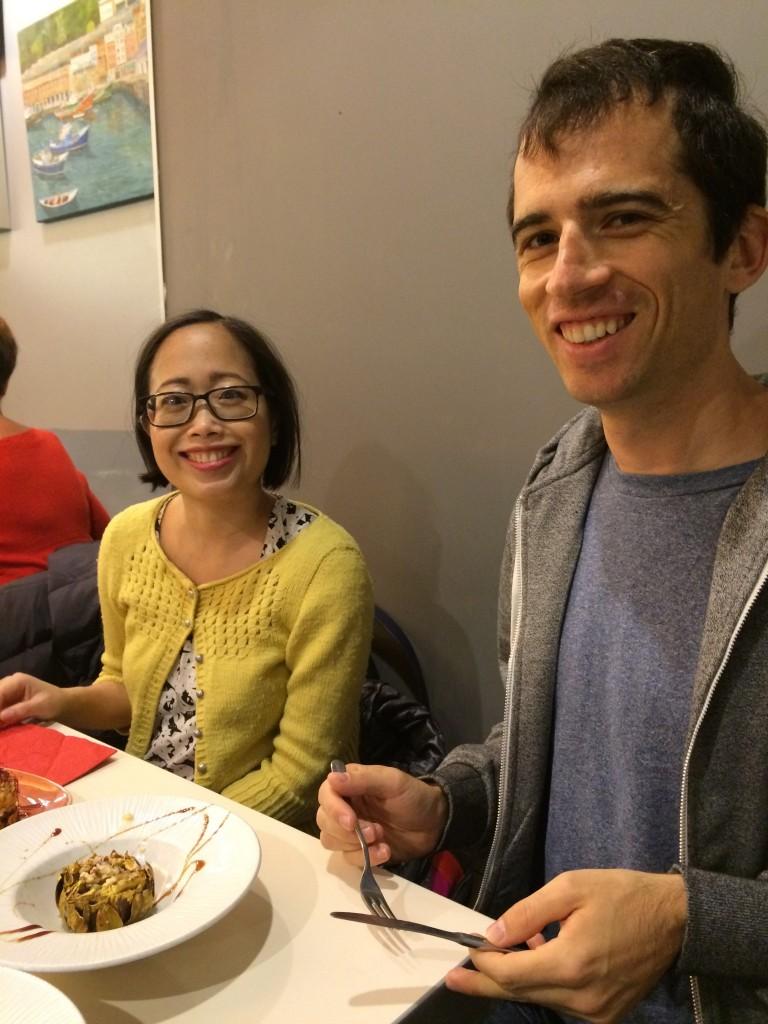 Happy pintxos eaters