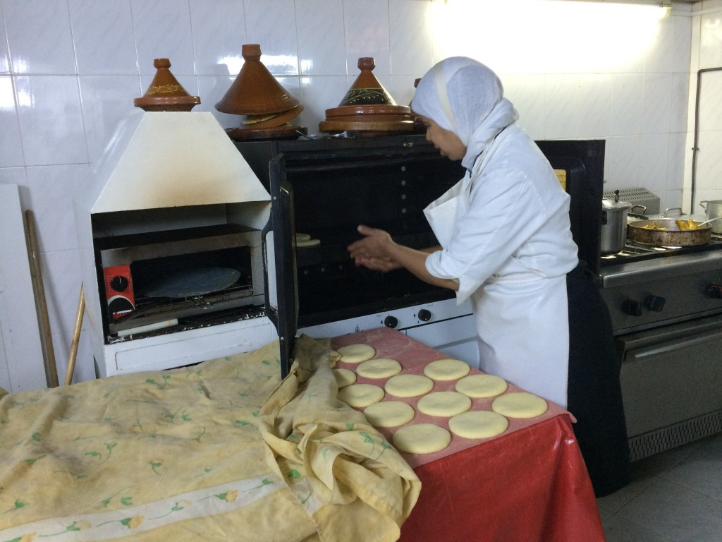 Breads were also being prepared while we were in the kitchen